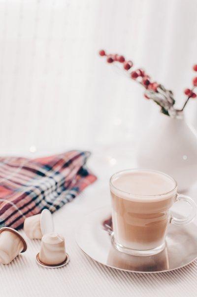 pyszna kawusia z ekspresu do kawy